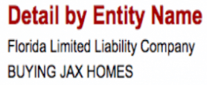 Buying Jax Homes