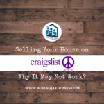 Selling Your Jacksonville House on Craiglist. Why It May Not Work