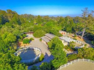 Santa Cruz Country Horse Property with Two Homes