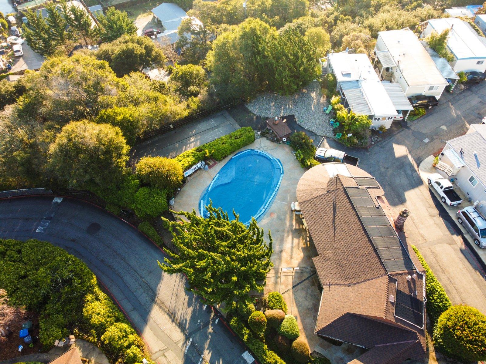 Alimur Mobile Home Park in Soquel, California