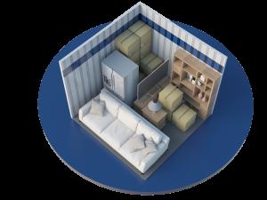 Image of 10'x10' Storage Unit