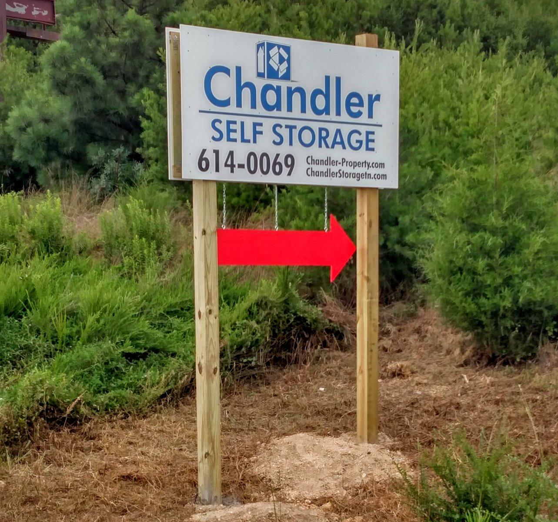 South Lee Storage Road Sign