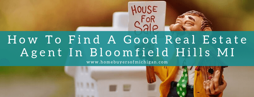 Sell your home in Bloomfield Hills MI