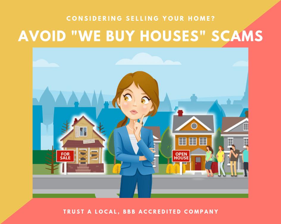 Avoid We Buy Houses Scams