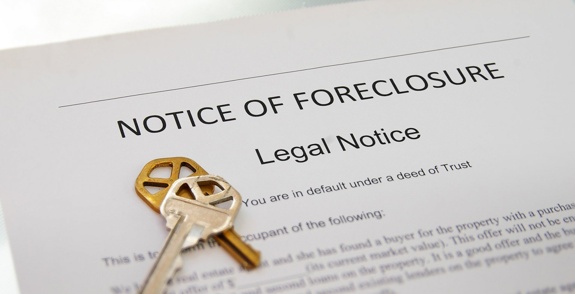 Second Mortgage Foreclosure