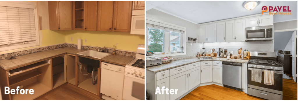 Fix and Flip Before & After in Massachusetts [Project #3]