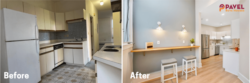 Fix and Flip Before & After in Massachusetts [Project #1]