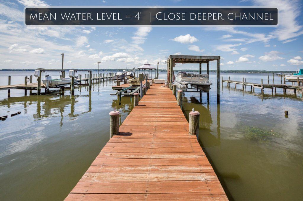 This is an image of the pier located at 7745 Patuxent Drive, Saint Leonard, MD