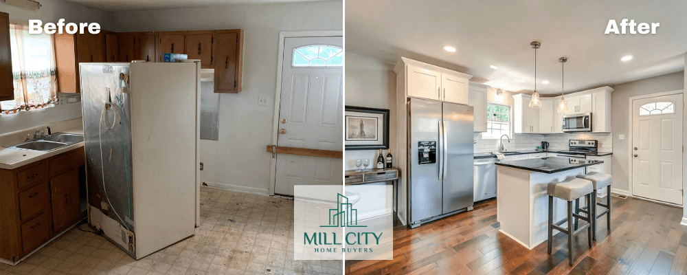 Mill City Home Buyers Before And After