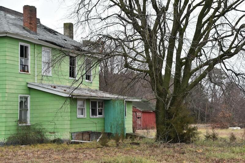 a condemned house in Minneapolis