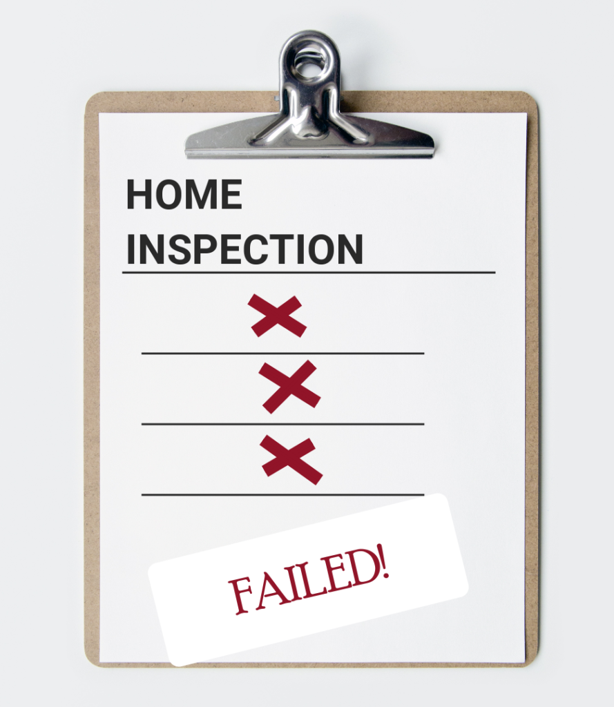 Failing Home Inspection