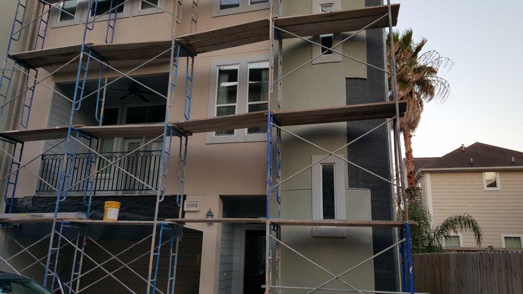 stucco damage in houston