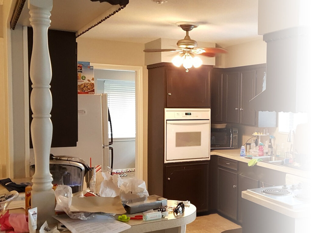 we buy houses in any condition. kitchen that needs work