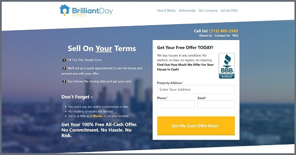 get your cash offer and sell your house fast in houston