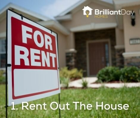 rent out the house