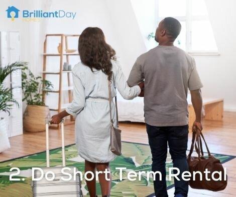 do short term rental in houston