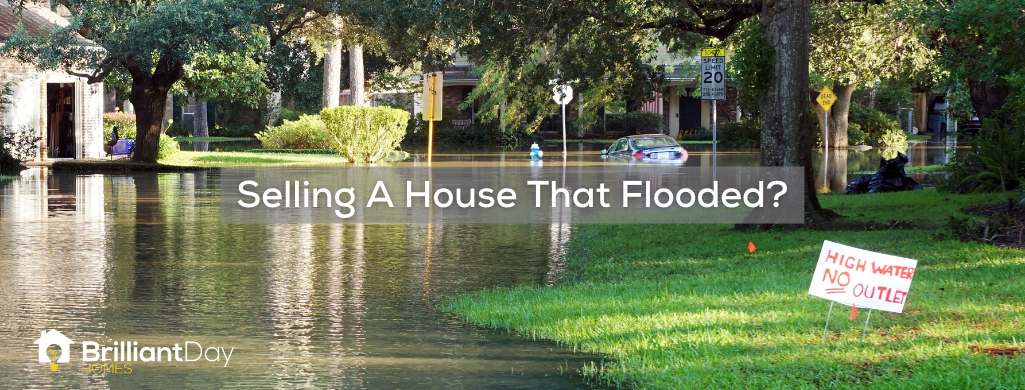 are you selling a house that flooded in houston?