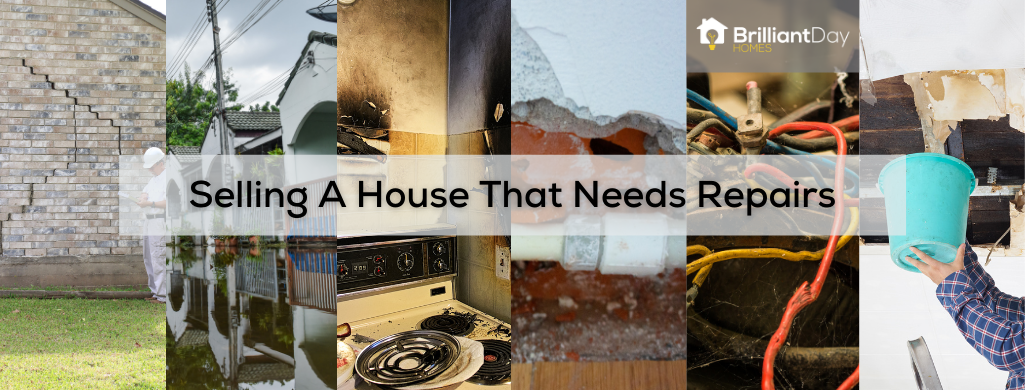 selling a house that needs repairs in Houston?