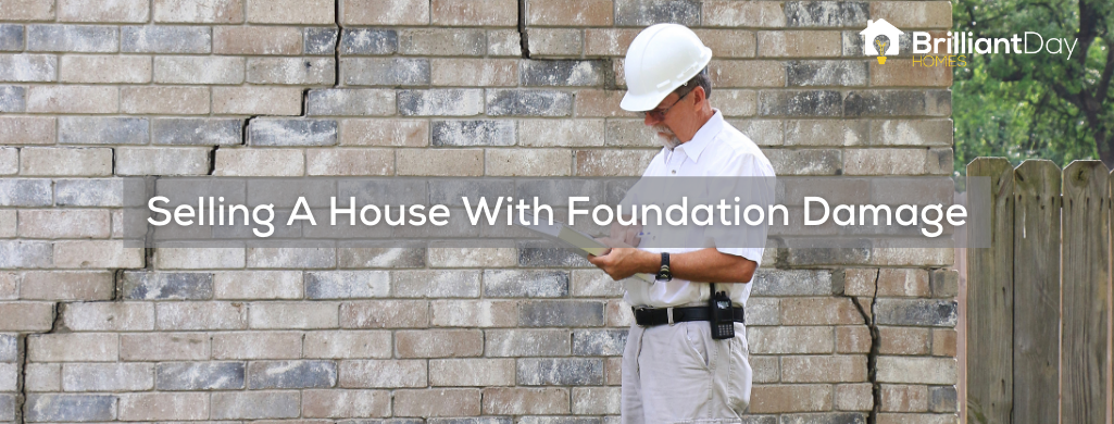 selling a house with foundation damage