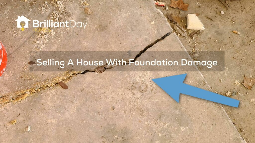 selling a house with foundation damage in houston