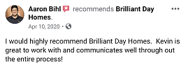 Review from Aaron that we are great to work with when selling without a realtor.