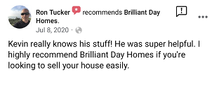 Review from Ron, that we can help you sell your house easily.