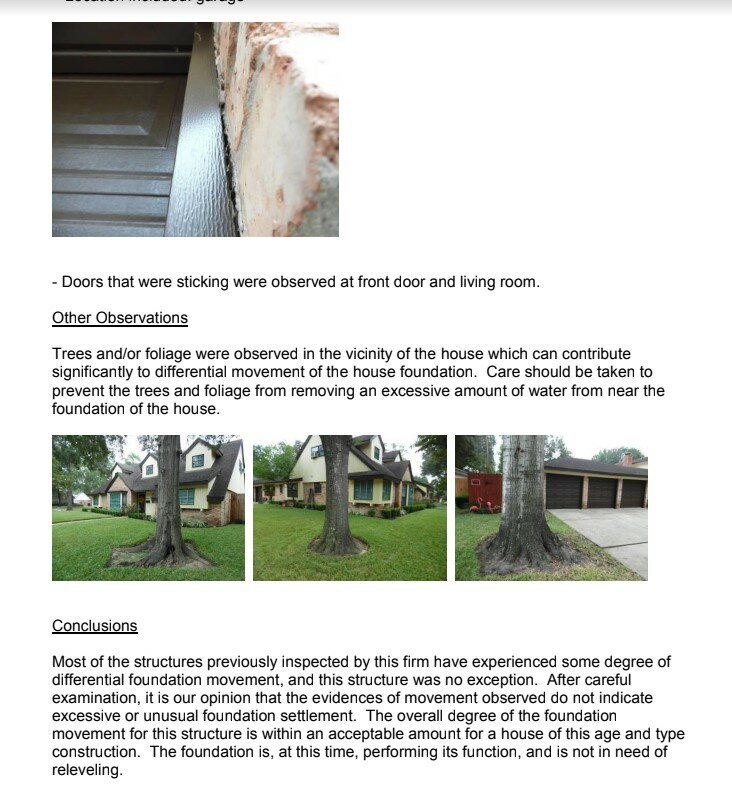 structural engineer report on foundation damage