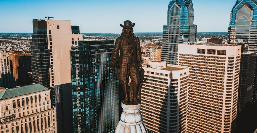 The founding father of Philadelphia and high-rise buildings
