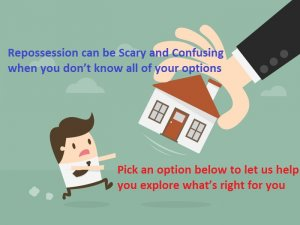 The Options to Avoid Repossession Of Your House Can Be Scary and Confusing, let us help!