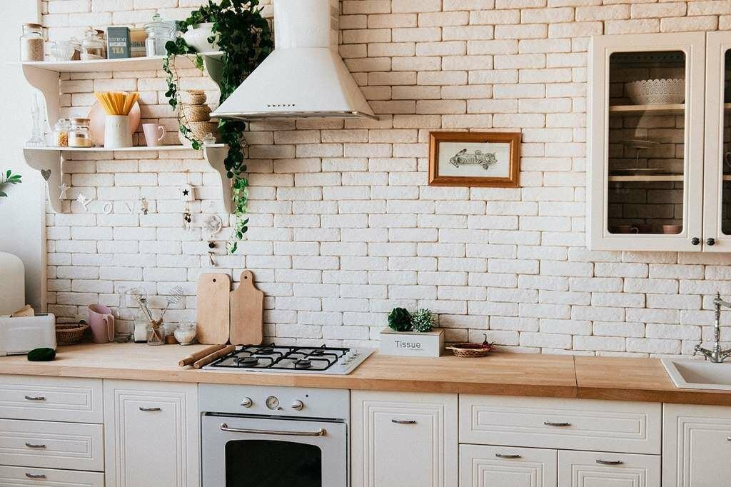 neat and clean kitchen