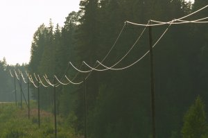 Electric pole hunting land for sale in Northern Virginia