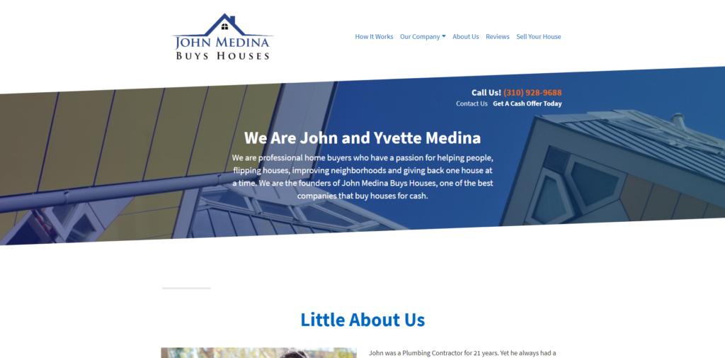 About Us_John Medina Buys Houses