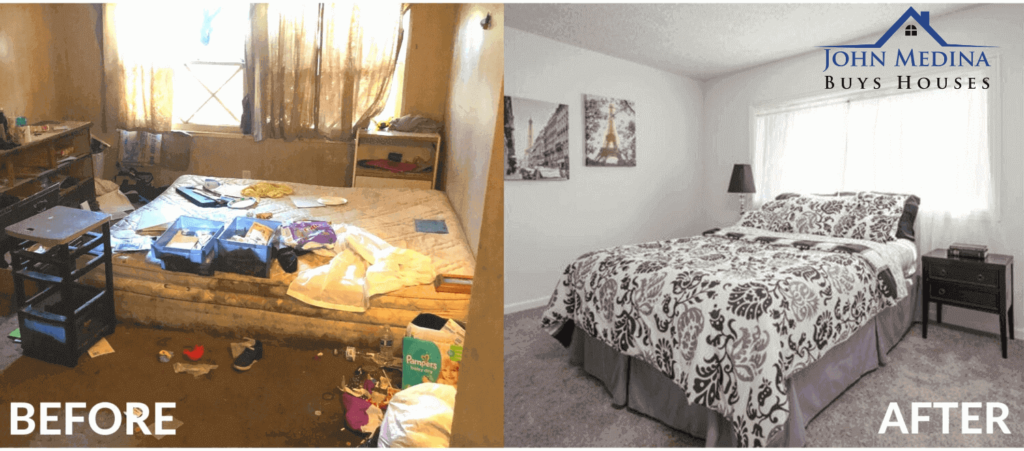 Before and After Sell MY House   John Medina Buys Houses