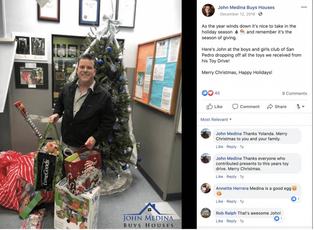 John Medina Christmas | John Medina Buys Houses