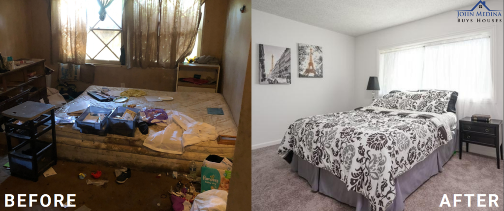 Before-&-after shots-of-home-sold-in-Long-Beach, CA