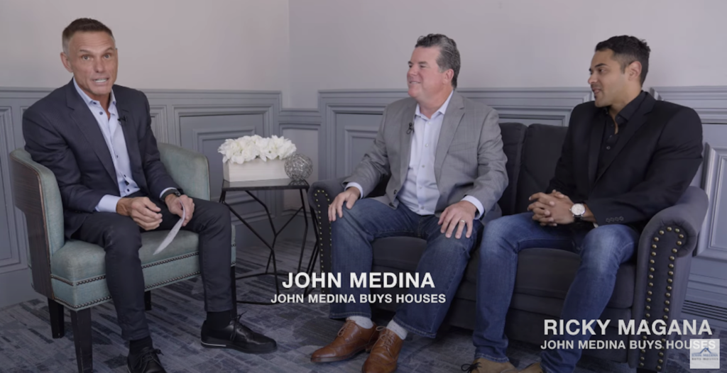 """The Shark Tank's """"Original Shark"""" Talks Home Buying Company Success with the John Medina Buys Houses on """"Get Down to Business with Kevin Harrington"""""""