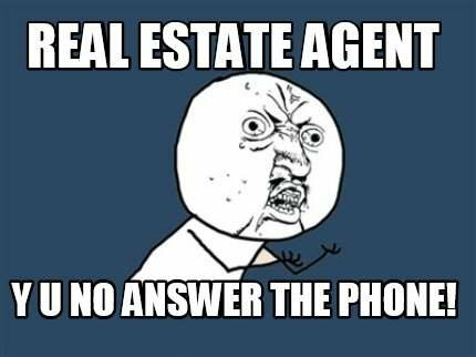 No returned calls is a problem sellers face when working with a real estate agent in greenville nc
