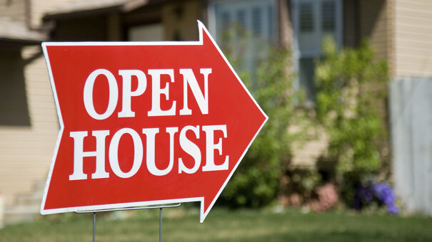 Open house sign showing that it is important to know how your house will be marketed when hiring an agent in greenville nc to sell your house