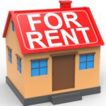 House with for rent to own written across the roof in greenville nc