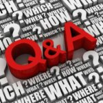 red letters q and a surrounded by questions from sellers in greenville nc about selling their house