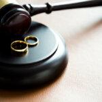 court during a divorce