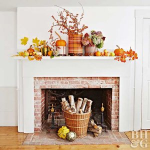fall maintenance fireplace