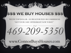 Sell My House Fast Arlington - We Buy Houses Arlington
