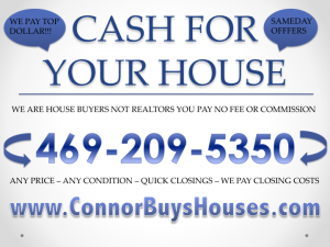 SELL MY HOUSE FAST FORT WORTH - WE BUY HOUSES FORT WORTH