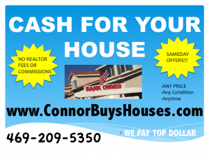 SELL MY HOUSE FAST IRVING - WE BUY HOUSES IRVING