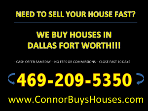 SELL MY HOUSE FAST SACHSE - WE BUY HOUSES SACHSE