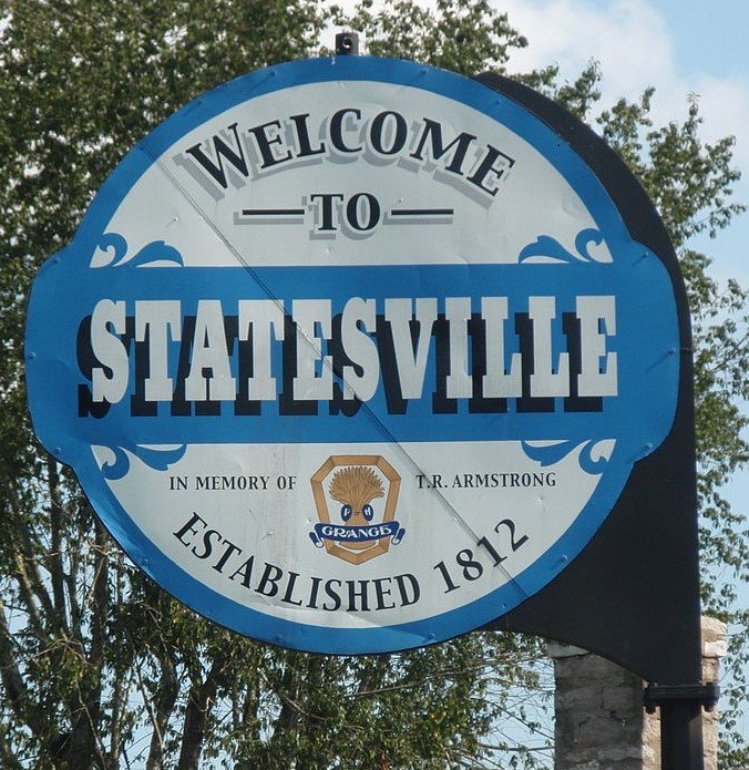 We buy houses Statesville nc picture of welcome sign