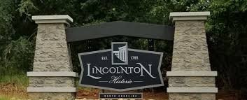 We buy houses Lincolnton NC welcome sign picture.