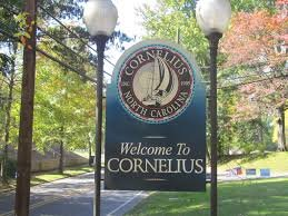 Welcome to Cornelius sign