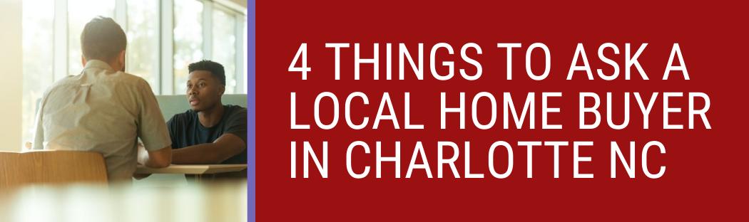 We buy houses in Charlotte NC